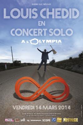 Louis Chedid en solo à l'Olympia de Paris : gagnez vos invitations !