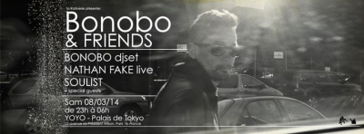 Bonobo & Friends au Yoyo