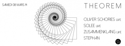 Theorem au Zig Zag avec Oliver Schories