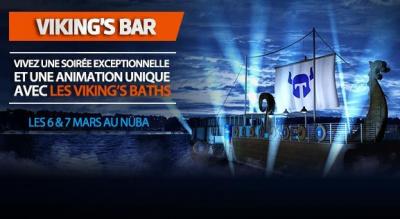 Le Viking's Bar et ses Viking's Baths au Nüba