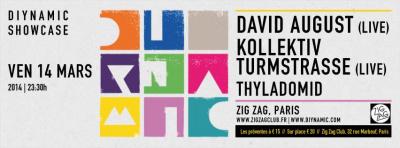 Diynamic Showcase au Zig Zag avec Kollektiv Turmstrasse