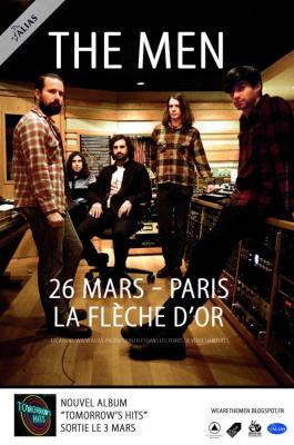 The Men en concert à la Flèche d'Or