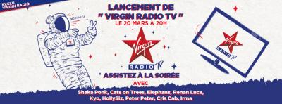 Lancement de Virgin Radio TV : concerts à La Maroquinerie
