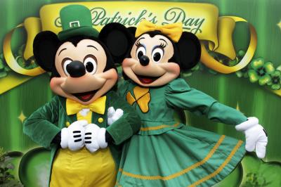 Saint Patrick 2014 au Parc Disneyland Paris