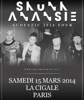 Report : Skunk Anansie en concert acoustique à La Cigale