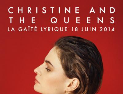 Christine and the Queens en concert à La Gaîté Lyrique, à Paris
