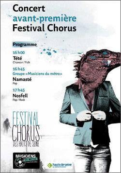 Tété et Nosfell en concert gratuit à la Gare d'Auber