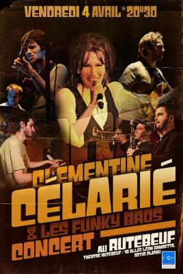 Clémentine Célarié en concert au Théâtre Rutebeuf