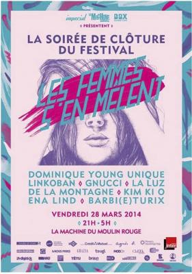 Festival Les Femmes s'en mêlent 2014 : soirée de clôture à la Machine