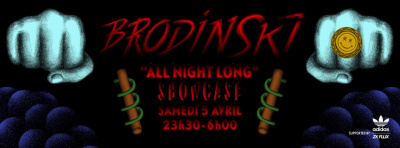 Brodinski All Night Long au Showcase