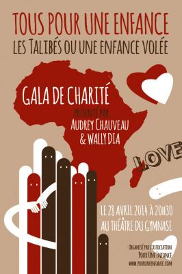 Gala de charité « Tous pour une enfance » au Théâtre du Gymnase