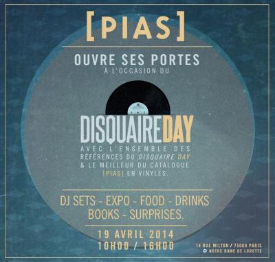 Disquaire Day 2014 : boutique éphémère Pias à Paris