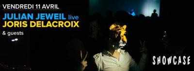 Joris Delacroix et Julian Jeweil au Showcase