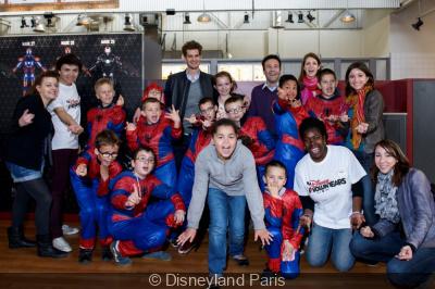 Spider-Man débarque à Disneyland Paris