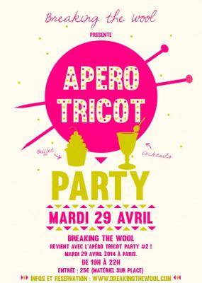 Apéro Tricot Party à l'Atelier d'Arts Rrose Selavy