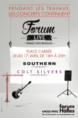 Forum Live : concerts gratuits au Forum des Halles