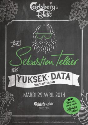 Carlsberg's Suite avec Sébastien Tellier