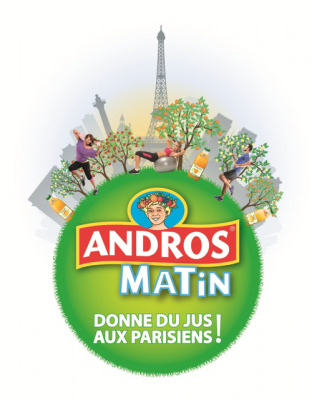 Andros Matin : l'éveil tonique et fruité parisien