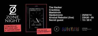 Zone Night au Showcase avec The Hacker et Arnaud Rebotini