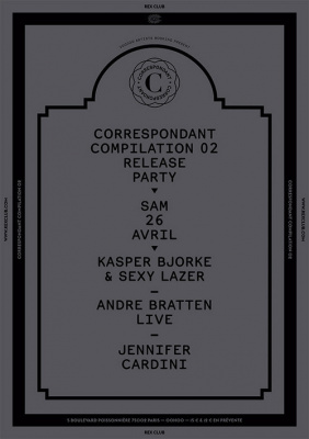 Correspondant Release Party Compilation II au Rex Club
