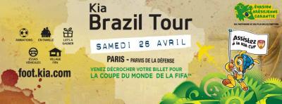 Kia Brazil Tour : Evasion brésilienne sur le Parvis de la Défense
