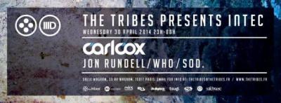 The Tribes presents Carl Cox à la Salle Wagram
