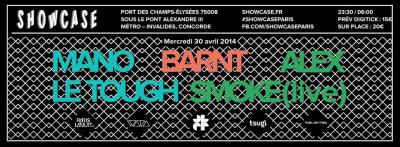 Soirée Open Minded au Showcase avec Mano Le Tough