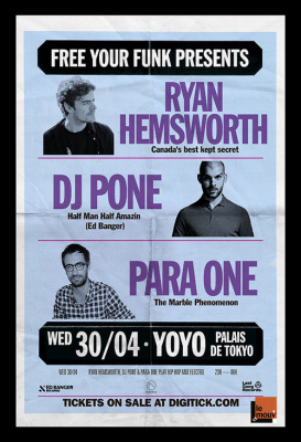 Free Your Funk au Yoyo avec Ryan Hemsworth