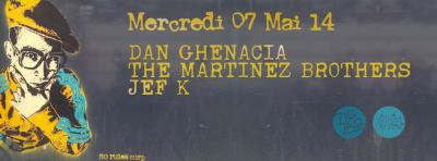 The Martinez Brothers au Zig Zag Club
