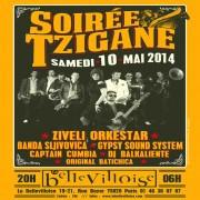 Nuit Tzigane à La Bellevilloise avec Banda Sljivovica