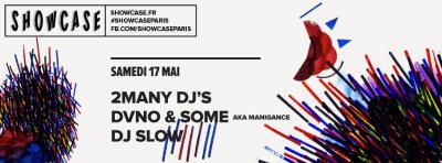 2manydjs et Manigance au Showcase