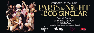 Bob Sinclar au Queen Paris Club