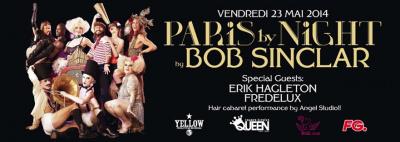 Bob Sinclar au Queen Paris Club