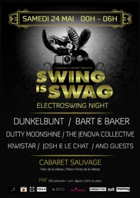 Swing is Swag au Cabaret Sauvage