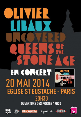 "Olivier Libaux à l'Eglise St Eustache pour ""Uncovered Queens of the Stone Age"" : gagnez vos places"