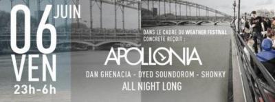 Weather Festival Off 2014 au Ponton : Concrete invite Apollonia
