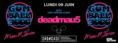Gumball 3000 au Showcase avec Deadmaus5