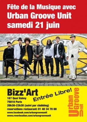 Fête de la Musique 2014 au Bizz'art