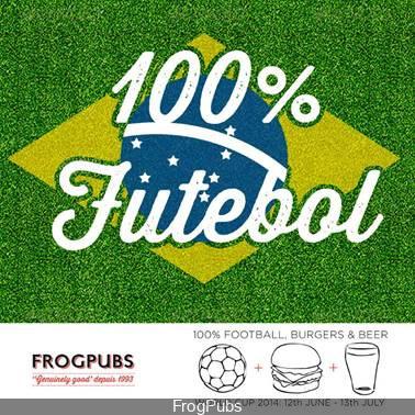 Coupe du monde de foot 2014 aux FrogPubs