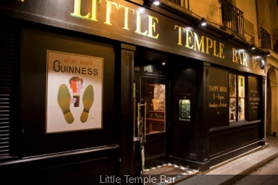 Où regarder la Coupe du monde de football : Little Temple Bar