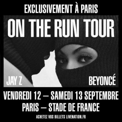 Beyoncé & Jay Z en concert au Stade de France en septembre 2014