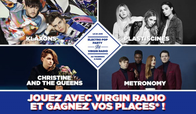Electro Pop Party au Trabendo : gagnez vos places !