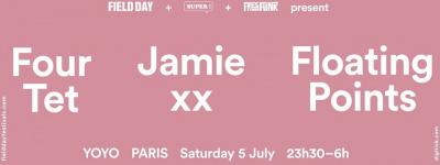 Field Day Paris au Yoyo avec Jamie XX