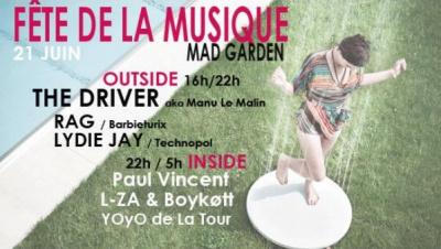 Fête de la Musique 2014 au Mad Boat & Mad Garden