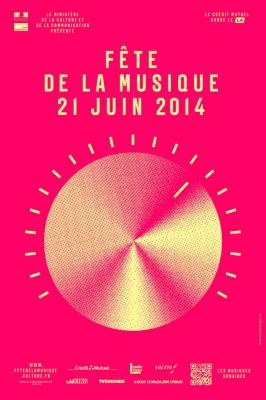 Fête de la musique 2014 sur la Place de La Bastille