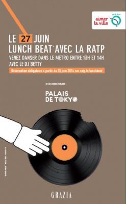 Lunch Beat avec la RATP : Venez danser dans le métro