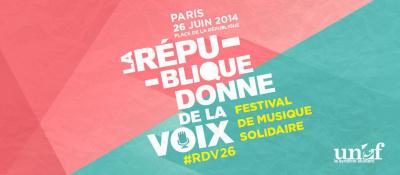 La République donne de la voix : le festival de musique solidaire