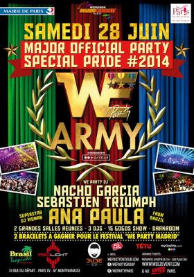 We Party Army au Redlight