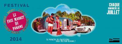 Le Free Market De Paname 2014 au 6B à Saint Denis