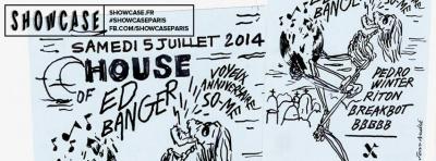 House of Ed Banger au Showcase avec Breakbot